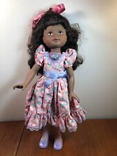 HASBRO MY BEAUTIFUL DOLL TYLER 17.5 INCHES AFRICAN AMERICAN 1989