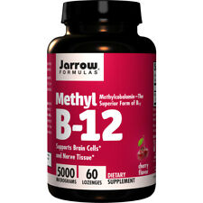 B-12 Methyl, 5000mcg x 60Loz, Superior form of B12 - Jarrow Formulas