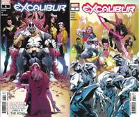 2020 Marvel Comics Excalibur #6 & 7 Covers A 1st Prints 2 Book Lot