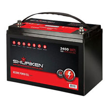 SHURiKEN SK-BT120 12V High Performance AGM Power Cell Battery
