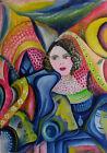 """MARIA MURGIA - """"Confusione sentimentale"""" - Olio su tela cm 100x70"""