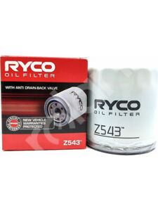 Ryco Oil Filter FOR PEUGEOT 505 551A (Z543)