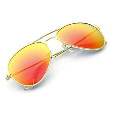 Gafas de sol de hombre naranja sin marca
