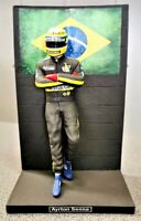 1:12 Sean´s Figure Figurine Ayrton Senna JPS Lotus 98T to Minichamps Spark NEW
