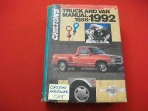 CHILTON'S US, CANADIAN & IMPORT TRUCK, PICKUP & VAN REPAIR MANUAL 4WD 1988-1992