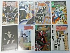 Shadowhawk lot - #2 is signed - 16 different books 8.0 VF - years vary