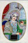Mughal Empress Mumtaz Mahal Art Painting Very Fine Miniature Handmade Artwork