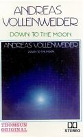 Andreas Vollenweider .. Down To The Moon. Import Cassette Tape