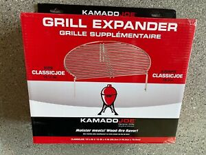"NIB Kamado Joe Classic 18"" Stainless Steel BBQ Grill or Smoker Expander Rack"