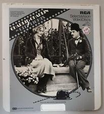 Charlie Chaplin city lights silent film Virginia CED RCA Selectavision VideoDisc