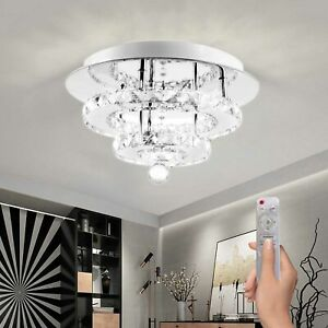Modern Luxury Chandelier Crystal Lights Shades Droplet Ceiling Pendant Lampshade