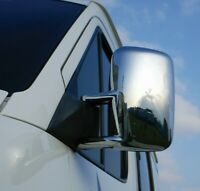 1998-2006 MERCEDES SPRINTER W901-W902-W903 ABS CHROME MIRROR COVER 2 PCS LHD
