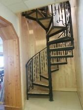 """The Spiral Staircase kit . It is 60"""" diameter cedar wood on the steps .in stock."""