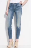CITIZENS OF HUMANITY Cropped Lennox Slim Relaxed Fit Jeans Circa Blue 24 $198 #8