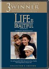 New Life Is Beautiful (Collector's Edition) Dvd The Movie Roberto Benigni 1998