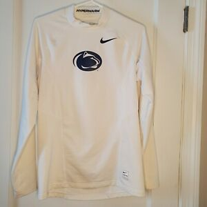 Women's Small Nike Pro Dri Fit Penn State Hyperwarm Long Sleeve Top Jacket