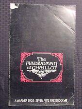 1969 THE MADWOMAN OF CHAILLOT Original Pressbook G/VG 3.0 Katharine Hepburn 22pg