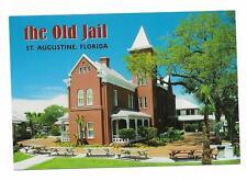 Vintage Florida Chrome Postcard St Augustine Old Jail