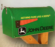 New John Deere Rural Nothing Runs Like A Deere Mailbox RMB-JDRUNS