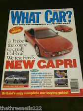 WHAT CAR? - NEW FORD CAPRI - MARCH 1994