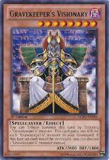 GRAVEKEEPER'S VISIONARY x3 Yugioh MINT Rare Card LCJW-EN259 3x