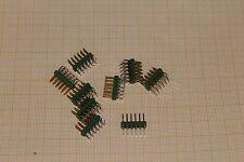 Circa 360 pezzi-amp penna barra a fila doppia angolo 0-0826662-6 2x6 poli #as-c11
