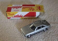 N871 SOLIDO HACHETTE 1/43 PEUGEOT 504 coupe V6 GRIS 44