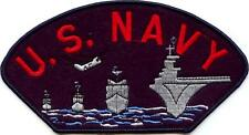 NAVY - BATTLESHIP/DESTROYER IRON ON PATCH
