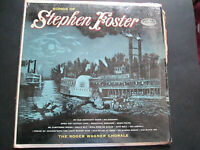 Songs Of Stephen Foster The Roger Wagner Chorale P8267 Capitol  lp vinyl record