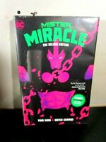 Mister Miracle The Deluxe Edition (HC Hardcover) NEW SEALED, DC 2020, Tom King ~