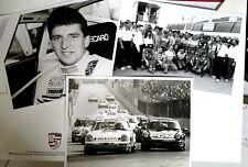 PRESSEMAPPE PRESSEINFO MOTORSPORT 1991 PORSCHE 911 CUP WINNER ROLAND ASCH