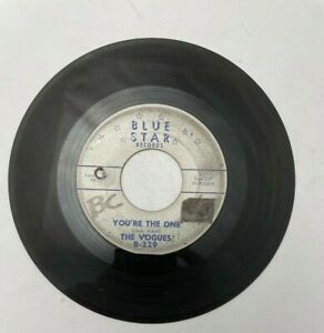 """45 RPM 7"""" Record: The Vogues: Some Words & You're the One"""