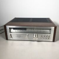 Pioneer TX-9800 Vintage Stereo Quartz Lock Tuner Multi-Voltage Works Great Wood