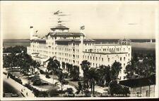 Nassau Bahamas British Colonial Hotel Real Photo Postcard