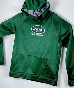 Under Armour NY Jets Green Combine Authentic Youth XLarge Hoodie NW/OTs(C22)