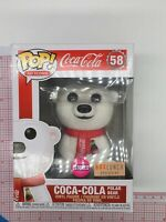 Funko Pop! Ad Icons - Coca-Cola Polar Bear #58 (Flocked) - Box Lunch Exclusive