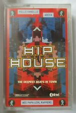 HIP HOUSE DEEPEST BEATS IN TOWN IMPORT CASSETTE TAPE -  BRAND NEW