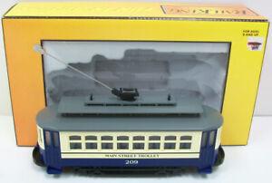 MTH 30-2562 Main Street Bump-n-Go Trolley LN/Box