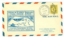1934 TRANS-OCEANIC RECORD FLIGHT COVER TO#1200 NAVY MASS FLIGHT TO PEARL HARBOR