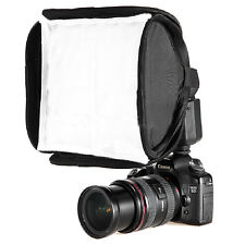 23x23cm Mini Protable Softbox Diffuser for Yongnuo Nikon Canon Flash Speedlite
