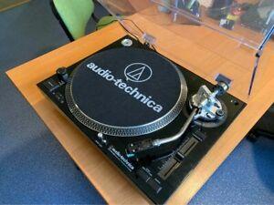 Audio Technica AT LP120 USB Turntable Plattenspieler - Working