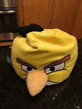 Angry Birds Yellow chuck plush microbead bean bag stuffed animal large
