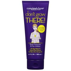 Completely Bare Don't Grow There Body Moisturizer - Hair Inhibitor 6.7 oz