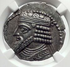 Gotarzes Ii 49Ad Parthian Ancient Tetradrachm Greek Coin of Parthia Ngc i64321