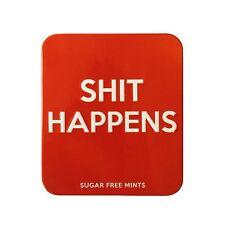 Joke Novelty Sweets Tin Sh*t Happens Mints Office Stag Hen Night Novelty Gift