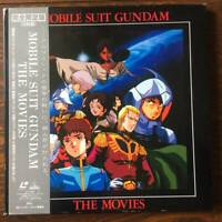 Limited!!  MOBILE SUIT GUNDAM THE MOVIES 5 LD Japan Anime Laser Disc Obi