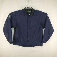 FootJoy DryJoys Mens Full Zip Golf Jacket Coat Navy Blue Size Large