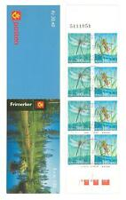 Norway V82 Booklet 1998 numbered used Insects Dragonfly