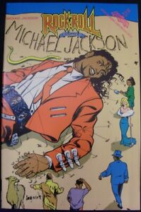 ROCK N ROLL 36 REVOLUTIONARY COMIC MICHAEL JACKSON KING POP MUSIC GILLEN 1991 NM