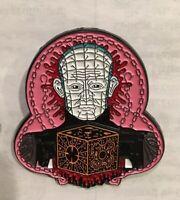 Hellraiser enamel pin pinhead retro 80s horror terror Barker Bradley movie film